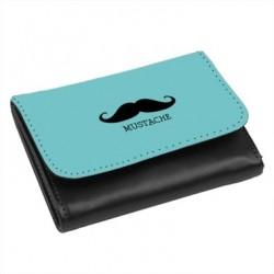 PorteFeuille simili-cuir moustache ref 123
