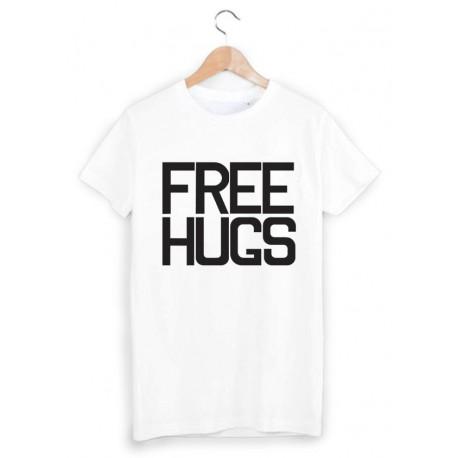 T-Shirt free hugs ref 852