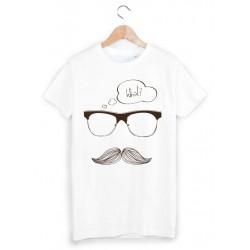 T-Shirt moustache ref 859