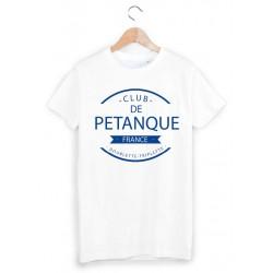 T-Shirt club de pétanque ref 873