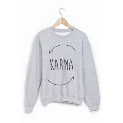 Sweat-Shirt karma ref 844