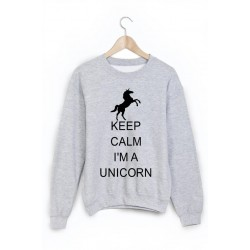 Sweat-Shirt licorne ref 854