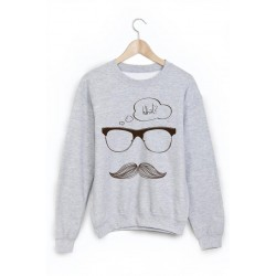 Sweat-Shirt moustache ref 859