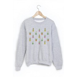 Sweat-Shirt cactus ref 870