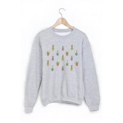 Sweat-Shirt cactus ref 870