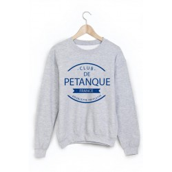 Sweat-Shirt club de pétanque ref 873