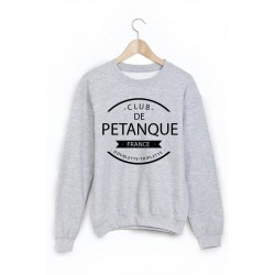 Sweat-Shirt club de pétanque ref 874
