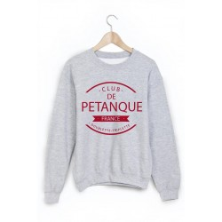 Sweat-Shirt club de pétanque ref 875