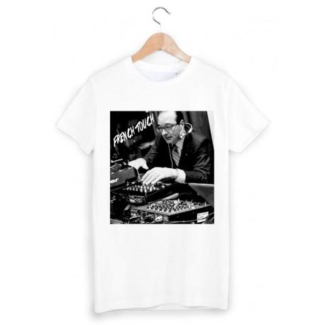T-Shirt jacques chirac DJ ref 1020