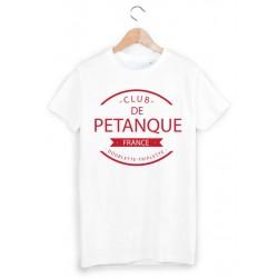 T-Shirt club de pétanque ref 875