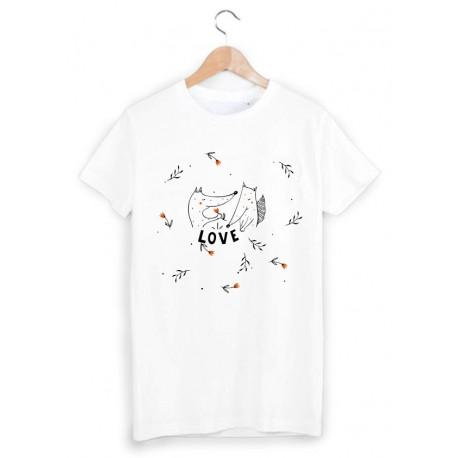 11bda35209a48 T-Shirt Enfant 2 à 12ans love ref 1158