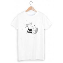 9a627e78ab8da T-Shirt Enfant 2 à 12ans keep calm ref 1165