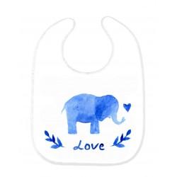Bavoir bébé éléphant ref 143
