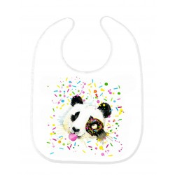 Bavoir bébé panda ref 144