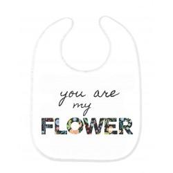 Bavoir bébé ma fleur ref 149