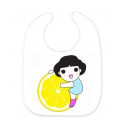 Bavoir bébé manga ref 159