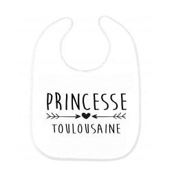 Bavoir bébé princesse toulousaine ref 178