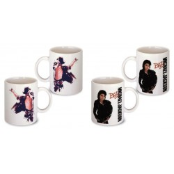 Lot de 2 Mugs déco michael jackson