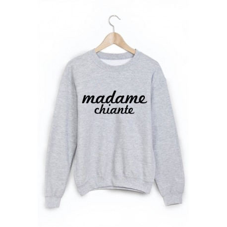 Sweat-Shirt madame chiante ref 1031