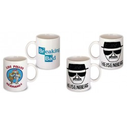 Lot de 2 Mugs breaking bad