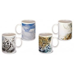 Lot de 2 Mugs animaux