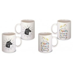 Lot de 2 Mugs licorne