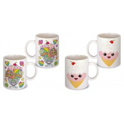 Lot de 2 Mugs friandise