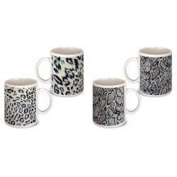 Lot de 2 Mugs imprimés animaux