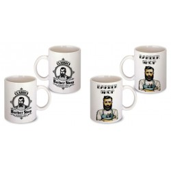 Lot de 2 Mugs barbier