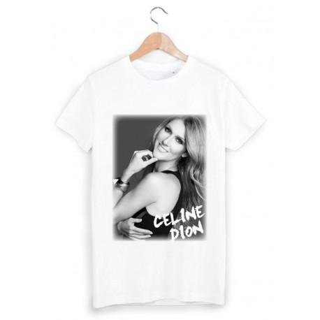 T-Shirt imprimé céline dion ref 1729