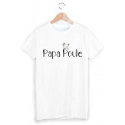 T-Shirt imprimé papa poule ref 1801