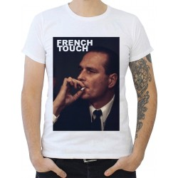 T-Shirt imprimé jacques chirac french touch