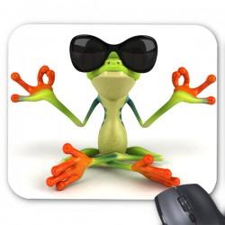 Tapis de souris grenouille humour
