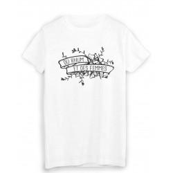 T-Shirt citation du rhum et des femmes