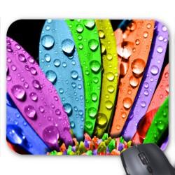 Tapis de souris Fleurs pétales couleurs réf 3611