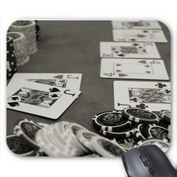 Tapis de souris Cartes poker réf 3629