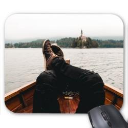Tapis de souris Barque lac relax réf 3641
