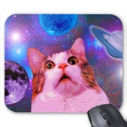 Tapis de souris Chat espace réf 3647