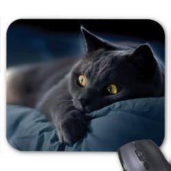 Tapis de souris Chat noir réf 3653