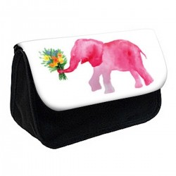 Trousse à Crayons Éléphant rose réf 474