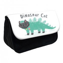 Trousse à Crayons Chat Dinosaure réf 476