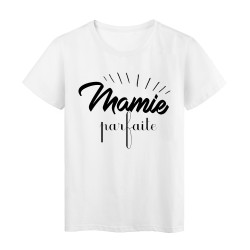 34f517a114fd T-Shirt citation mamie parfaite