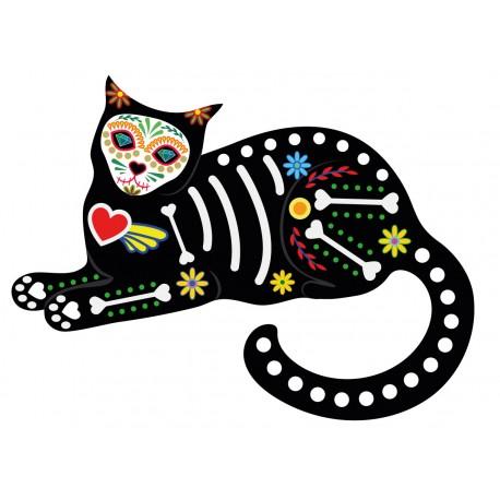 Stickers Autocollants Enfant D Co Chat Design