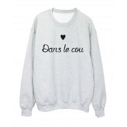 Sweat-Shirt SAINT VALENTIN COEUR DANS LE COU