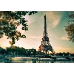 Stickers Autocollants ordinateur portable PC Ville Paris tour Eiffel réf 346