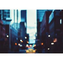 Stickers Autocollants ordinateur portable PC Etats unis Ville New york Taxi réf 349
