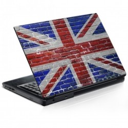 Stickers Autocollants ordinateur portable PC Drapeau Anglais tag graffitis réf 350
