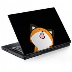 Stickers Autocollants ordinateur portable PC Manga chat cute réf 163