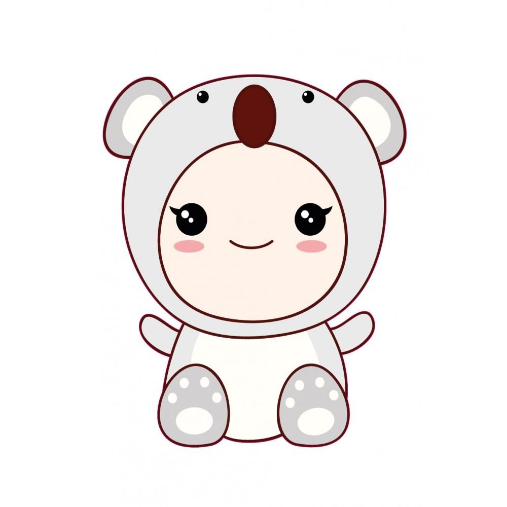 Stickers Autocollants Enfant D Co B B Manga Koala