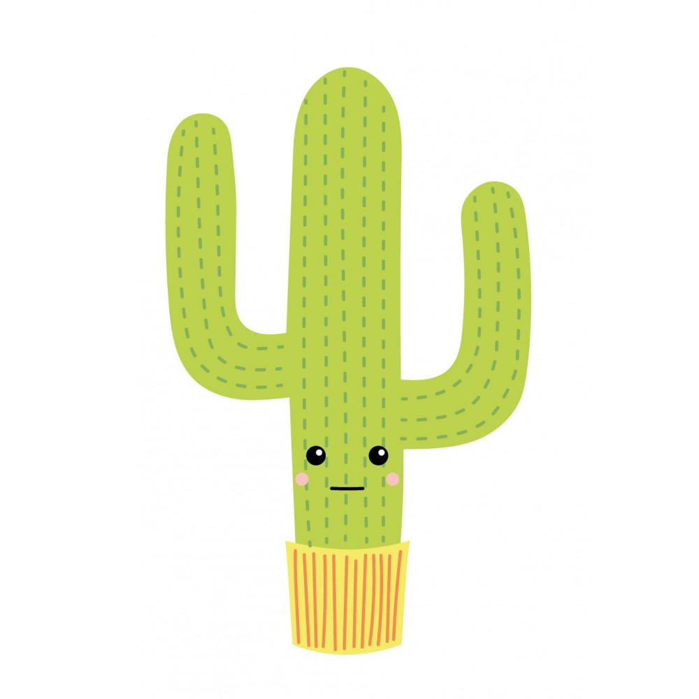 Stickers Autocollants Enfant D Co Cactus Design